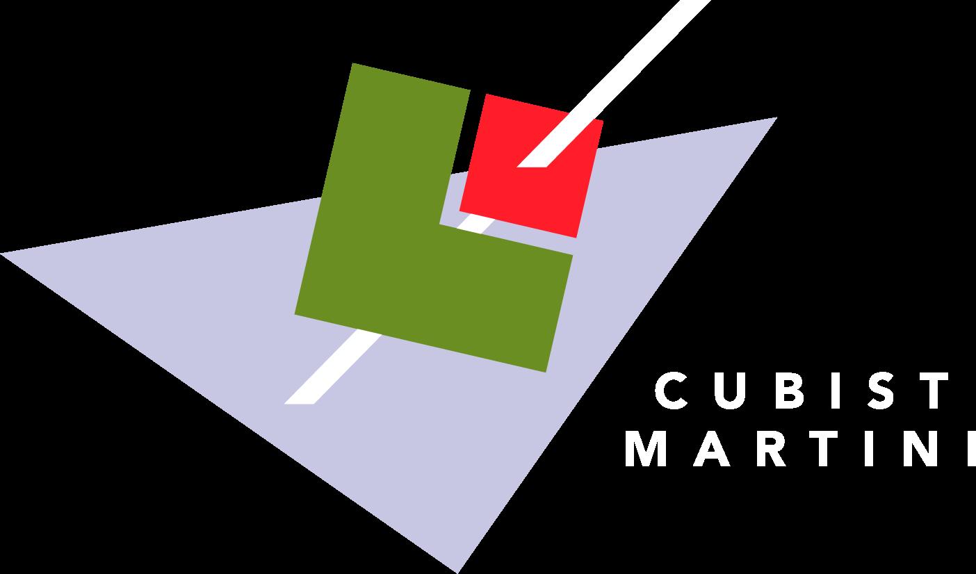 Cubist Martini Logo